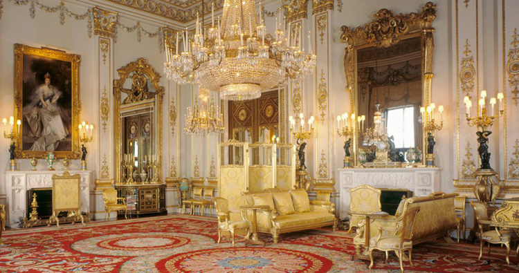 Buckingham Palace Gets an Interior Makeover