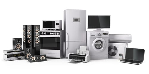 Don't forget the everyday electricals
