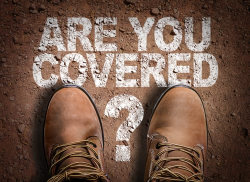 Take out extra insurance cover